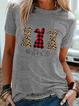 Cotton-Blend Short Sleeve Shirts & Tops