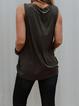 Color4 Cotton-Blend Crew Neck Vintage Shirts & Tops