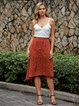 Red Polka Dots Retro Skirts