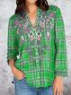 Boho Cotton-Blend Shirts & Tops