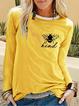 Paneled Casual Long Sleeve Shirts & Tops