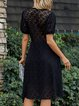 Black Sweet Lace Dresses