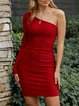 Red Sheath Sweet Skirts