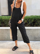 Women's Casual Plus Size Jumpsuit Overalls One-Pieces