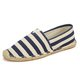 Pi Clue Casual Flat Heel Canvas Flats