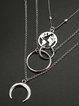 Sliver Round Necklaces