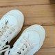 White-Black Winter Flat Heel Split Joint Sneakers