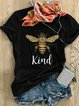 Casual Short Sleeve Printed Shirts & Tops