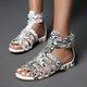Women Summer Buckle  Gladiator Sandals