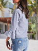 Striped Long Sleeve Casual Shirts & Tops