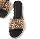 Women Casual Daily Rivet Flat Sandals