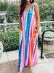 Sleeveless Holiday Chiffon Dresses
