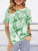 Tie Dye Casual Shirts & Tops
