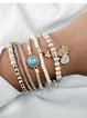 Blue Drop Bracelets
