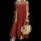 Vintage Sleeveless Square Neck Dresses