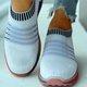 All Season Striped Ballet Flats Sneakers