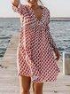 Vintage Shift Printed Dresses