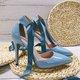 Sweet Ankle Ribbon Stiletto Women's Shoes