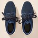 Women's Fabric Lace-Up Driving Hollow-out Sneakers