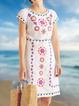 Women Tribal Shift Casual Summer Dresses