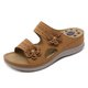 Summer Pu Slippers