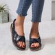 Casual Summer Magic Tape Sandals