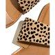 Leopard Flat Heel Leather Summer Slippers