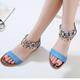 Summer Beading Pu Sandals