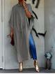 Batwing Casual Dresses
