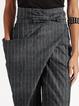 Deep Gray Cotton Casual Pants