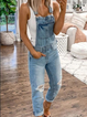 As Picture Casual Denim One-Pieces