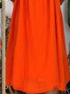Red Cotton Vintage Spaghetti Dresses