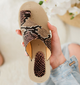Summer Artificial Leather Slippers