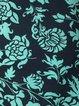Bohemian print dress loose pocket dress