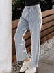 Lightblue Denim Shift Pants