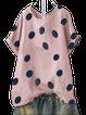 Pink Casual Short Sleeve Shirts & Tops