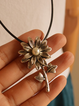 Sunflower Alloy Vintage Charms & Pendants