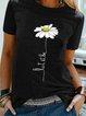 Short Sleeve Floral Holiday Shirts & Tops