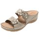 Women Casual Summer Daily Comfy Flower Wedge Sandals