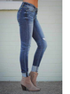 As Picture Ripped Casual Pants
