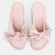 Pink Bowknot Summer Daily Slippers