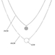 Sequined Multilayer Pendant Necklace