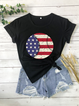 Holiday Cotton Floral-Print Shirts & Tops
