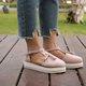 Pumps Flat heel Round combat Women Tassel