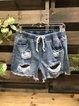Vintage Shift Denim Pants