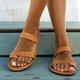 Pi Clue Flat Heel Slippers
