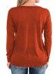 Casual Long Sleeve Plain Shirts & Tops