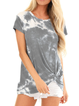 Holiday Crew Neck Floral-Print Cotton Shirts & Tops