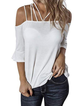 Bell Sleeve Casual Shirts & Tops