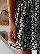 Black Spaghetti-Strap Casual Dresses